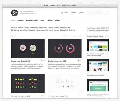 simple browser surround 20+ Free Web Browser Frame PSD Templates