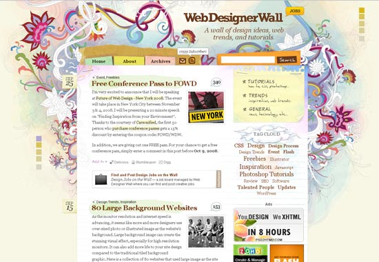 1 Blog Designs: 50 Of The Most Creative