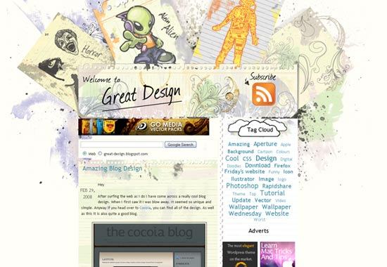 22 Blog Designs: 50 Of The Most Creative