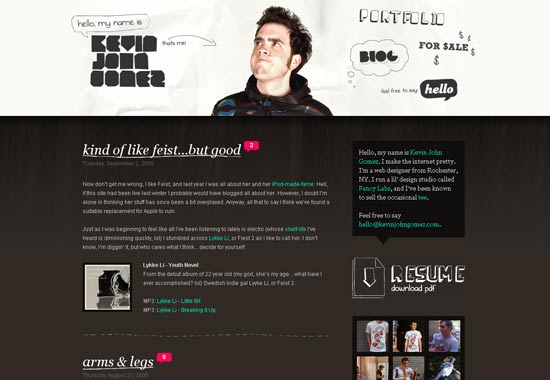 50 Blog Designs: 50 Of The Most Creative
