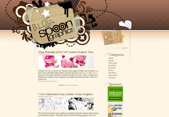 9 Blog Designs: 50 Of The Most Creative